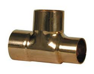 28mm x 22mm x 28mm REDUCER TEE END FEED
