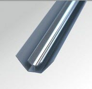 10mm Internal Corner - Chrome