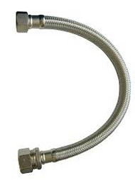 "22mm x 3/4"" Flexi Tap Connector Compression 500mm"