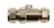 15mm Full Bore Isolating Valve C x C Chrome
