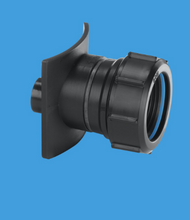 BOSS 110T CAST - BL Two Piece Cast Iron Soil Pipe Boss Connector