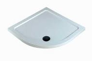 1000mm x 1000mm x 40mm Quad Shower Tray