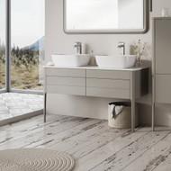 1180mm Stark Floor Standing Vanity Unit - French Grey