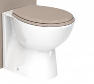 Dartmouth Soft Soft Closing Toilet Seat - stone grey ash