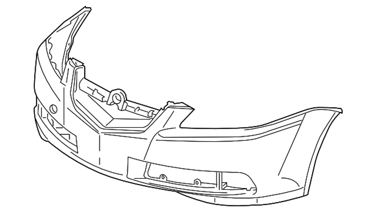 Genuine OEM Acura TL Type-s Front Bumper