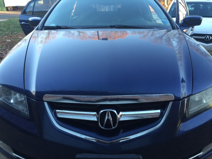 Acura TL Chrome Front Grill - 04-06