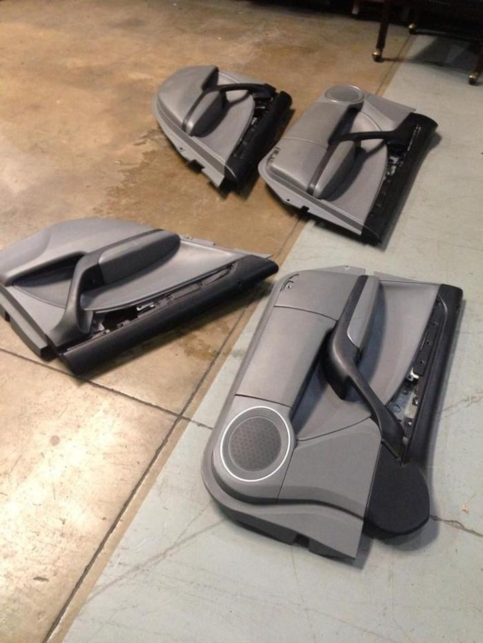 Grey door panels (4)