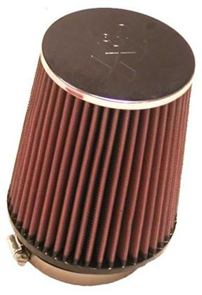 K&N Universal Clamp On Extreme Duty Air Filter 3 1/2 Inch Flange 5 1/2 Inch Base 4 1/2 Inch Top 6 1/2 Inch Height