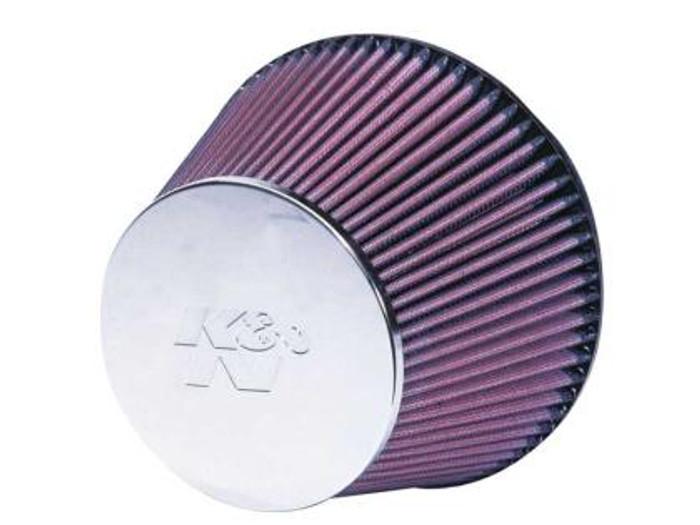 K&N Universal Chrome Filter 6 inch FLG / 7 1/2 inch Bottom / 5 inch CR T / 5 inch H