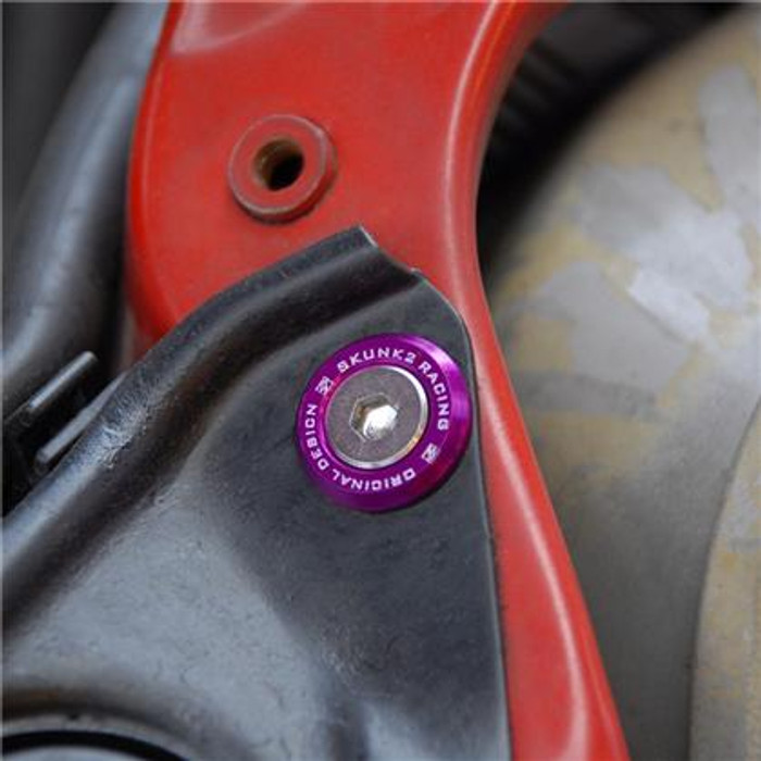 Skunk2 Small Fender Purple Anodized Washer Kit (12 Pcs.)