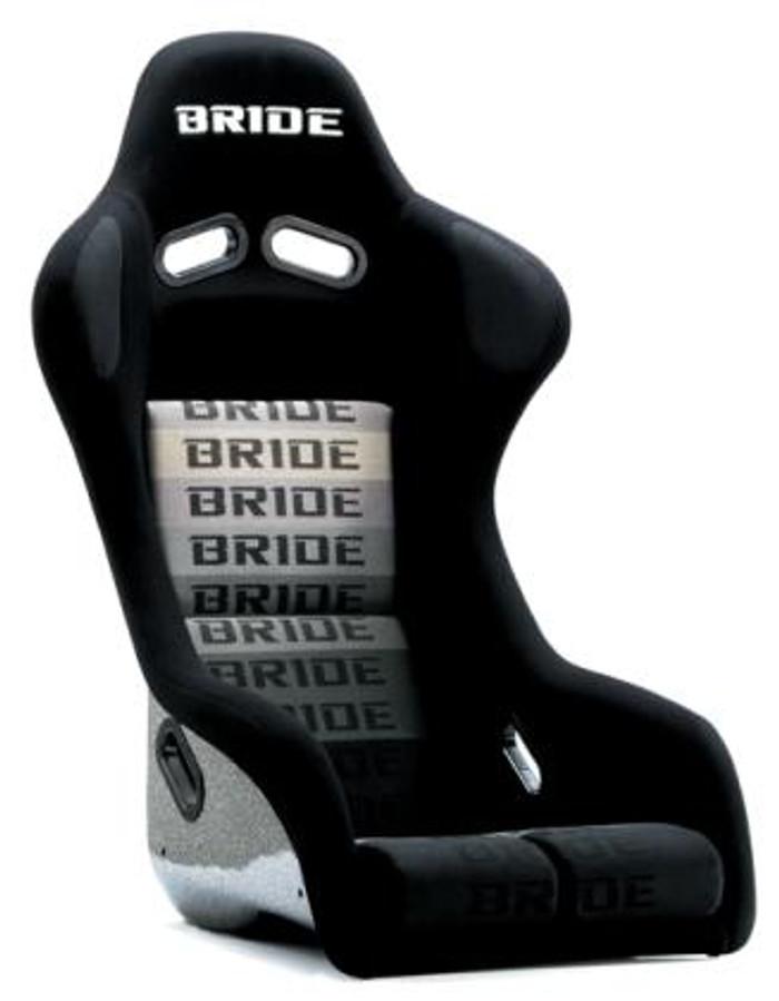 Bride Cusco Zeta III+C Super Aramid - Black / Black Suede Seat