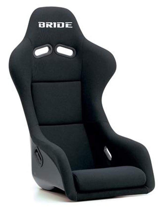 Bride Cusco Zeta III Sport+C FRP - Black / Black Suede Seat