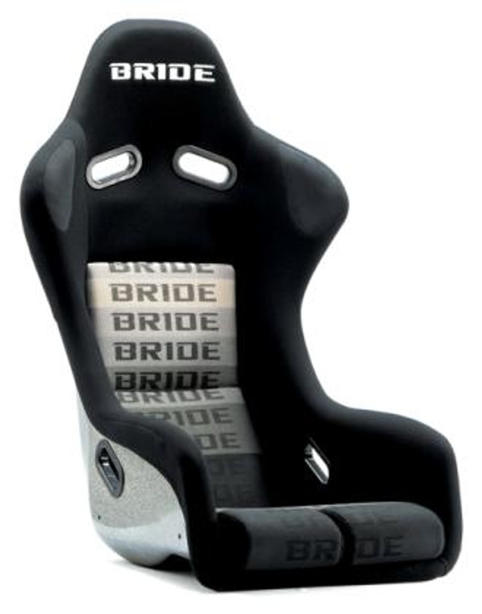 Bride Cusco Zeta III+C Type-L Super Aramid - Black / Black Suede Seat