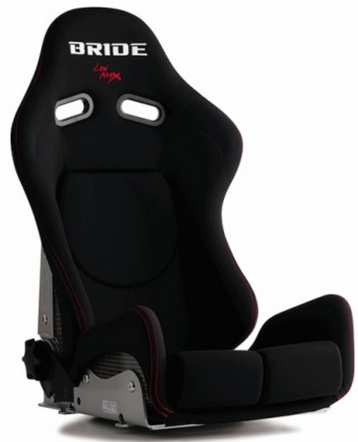 Bride Cusco Gias II CFRP - Black (Carbon Aramid) w/ Red Logo Stitch *SPECIAL ORDER*