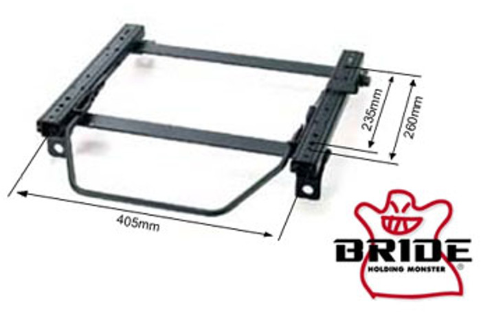 Bride Acura Integra DC#/DB# RO-Type RH Seat Rail