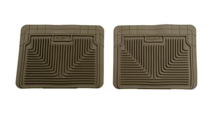 Husky Liners Tan 2nd Row Floor Mats