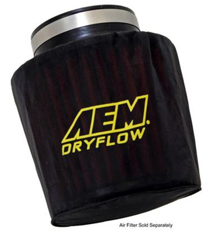 AEM Air Filter Wrap 6 inch Base 5 1/4 inch Top 5 inch Tall