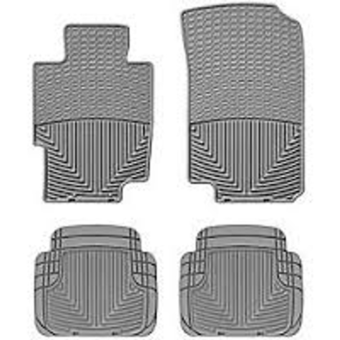 WeatherTech Acura TSX/TL Front and Rear Rubber Mats - Grey