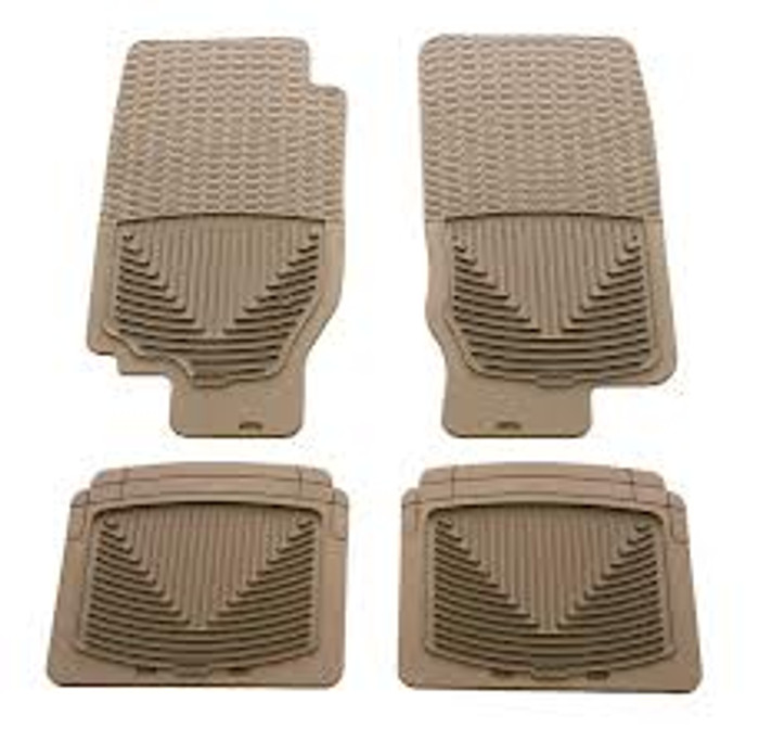 WeatherTech Acura TSX/TL Front and Rear Rubber Mats - Tan