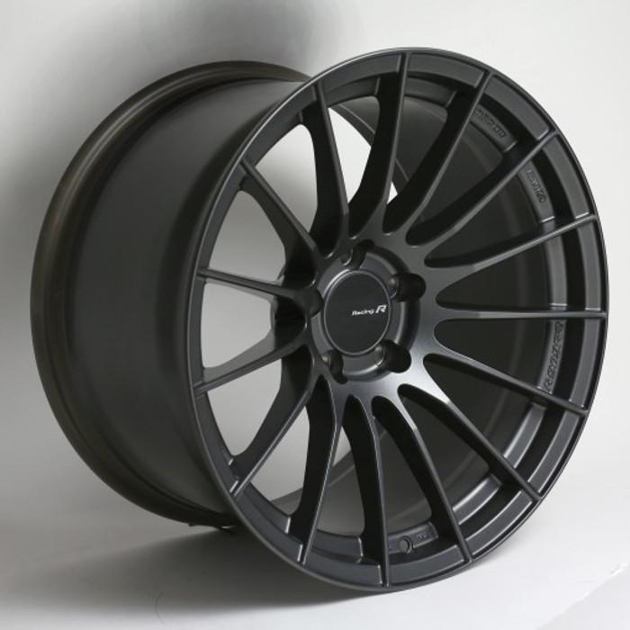 Enkei RS05-RR 18x11 30mm Offset 5x120 Bolt Pattern 72.5 Bore Matte Gunmetal Wheel