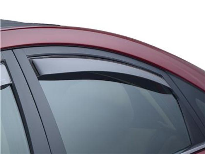 WeatherTech 09-14 Acura TL Front and Rear Side Window Deflectors - Dark Smoke