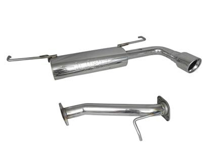 Injen 2005-10 tC 60mm 304 S.S. transverse axle-back exhaust