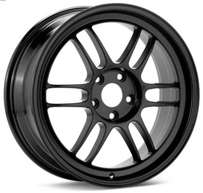 Enkei RPF1 17x7 5x114.3 45mm Offset 73mm Bore Black Wheel