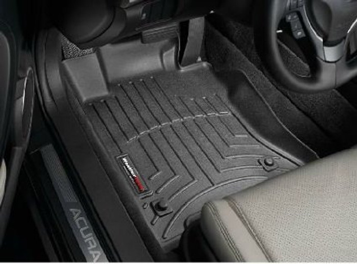 WeatherTech 09+ Acura TL Front and Rear Floorliners
