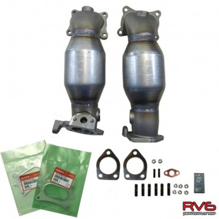 RV6™ HFPCs™ (High Flow Precats)/Downpipe Kit for 15+ TLX (3.5L)