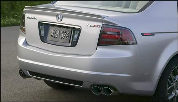 TYPE-S tail lights (dark chrome bezel with red) left and right ...
