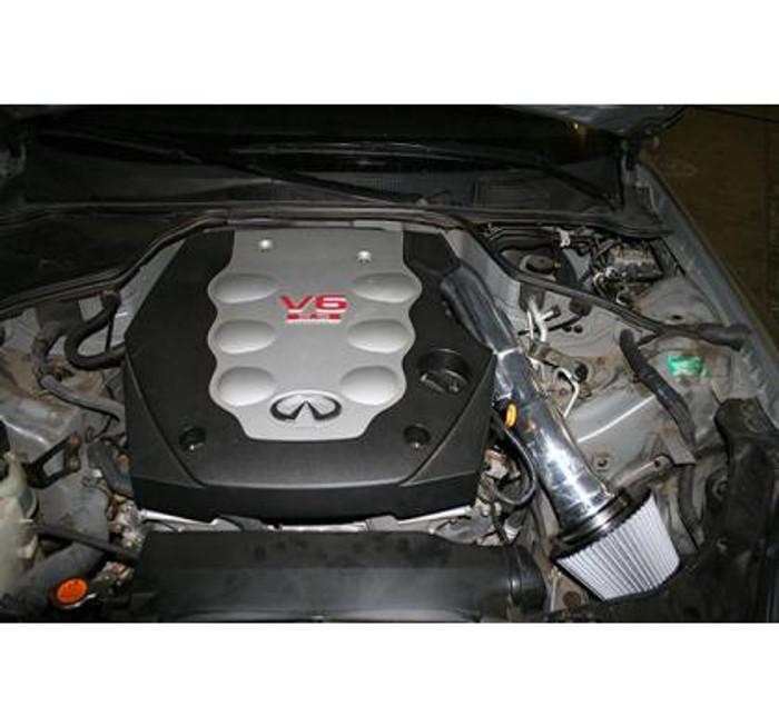 aFe Takeda Intakes Stage-2 PDS AIS PDS Nissan 350Z 03-06: Infiniti G35 03.5-06 V6-3.5L (pol)