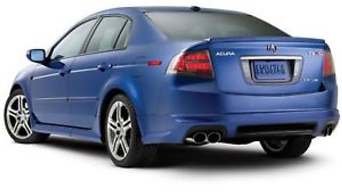 Acura TL OEM ASpec Lip, rear Underspoiler Type-S 07-08 UA7