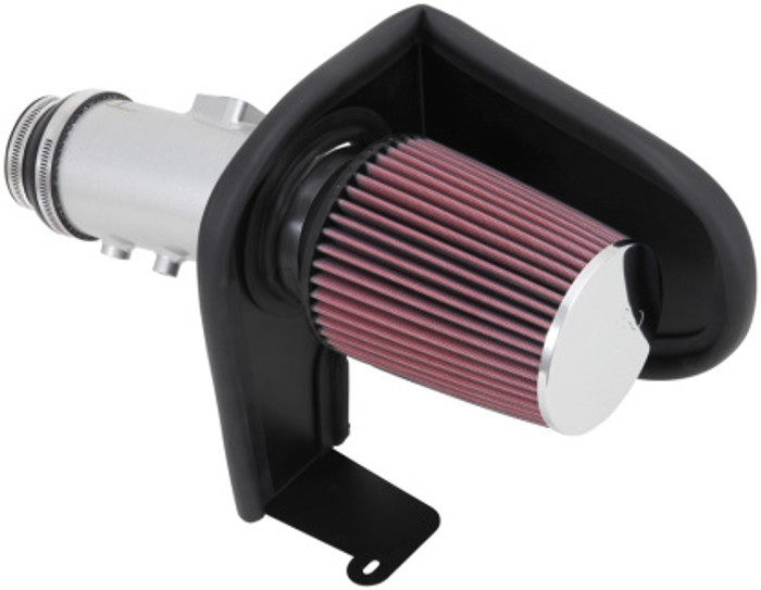 K&N 3.5L V6 Typhoon Air Intake System - Silver Cold Air Intake Kit