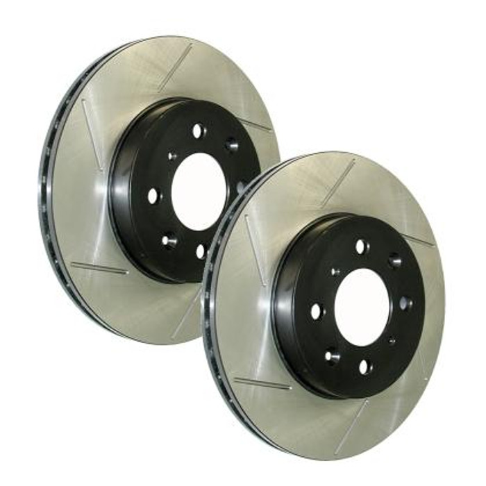 Stop Tech Slotted  TL/TSX/ACCORD/CL  (STD Caliber - Automatic)  Front Left Rotor ONLY
