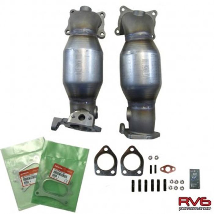 RV6™ HFPCs™ (High Flow Precats) Kit (09-14 TL) - Free Shipping