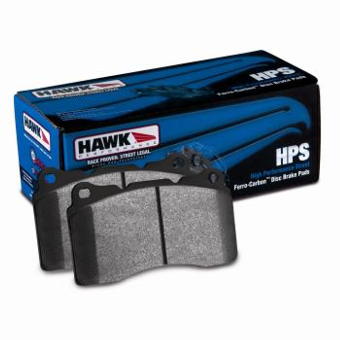 Hawk 07-08 Acura TL Type S / 99-08 Acura TL 3.2L HPS Street Rear Brake Pads - (B code, see description)