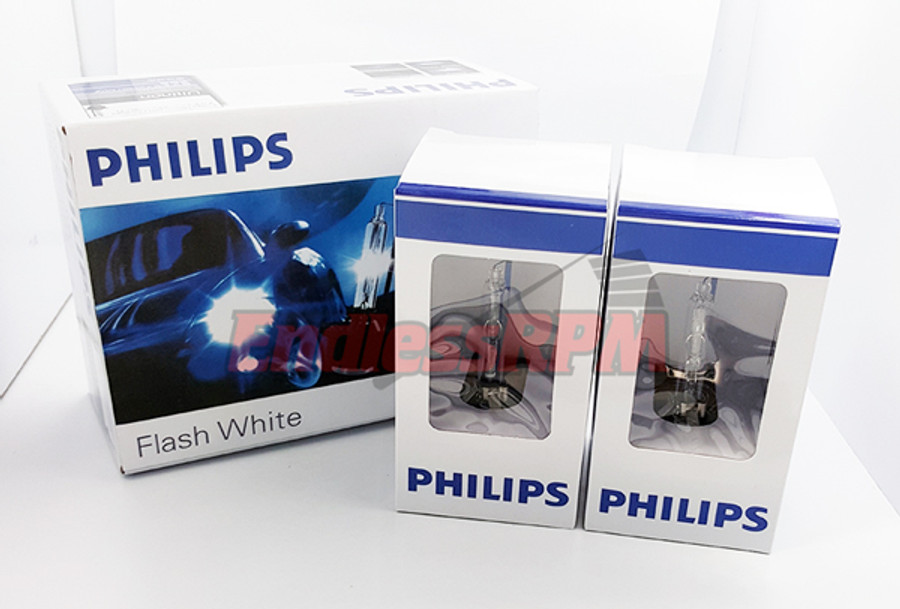 PHILIPS 6700K FlashStar Ultinon D2S HID Bulbs 85122+