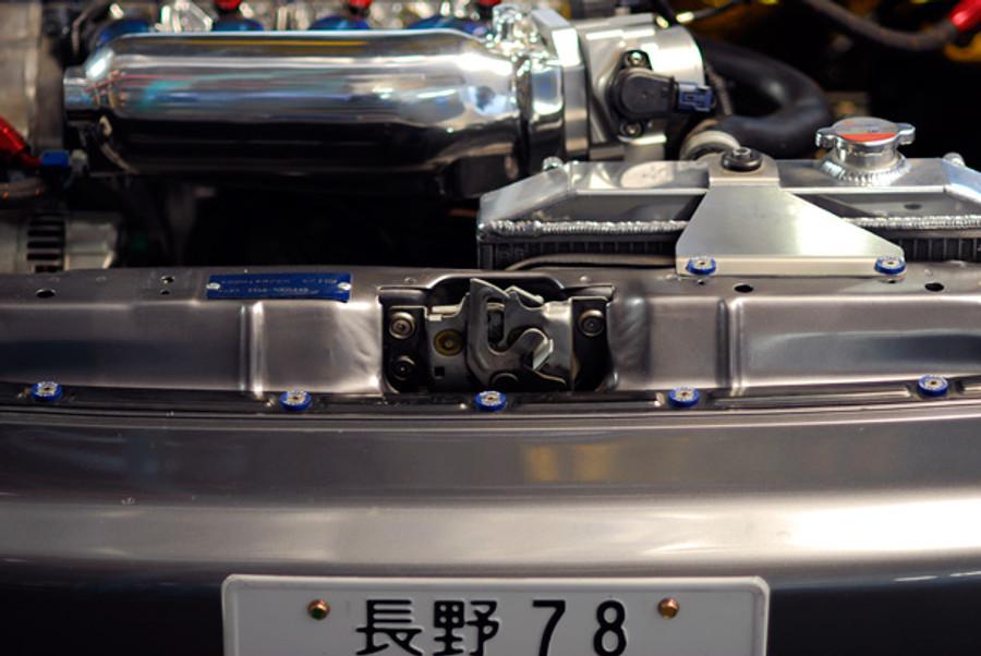 10 PCS KIT FENDER/BUMPER WASHER/BOLT ENGINE BAY DRESS UP KIT