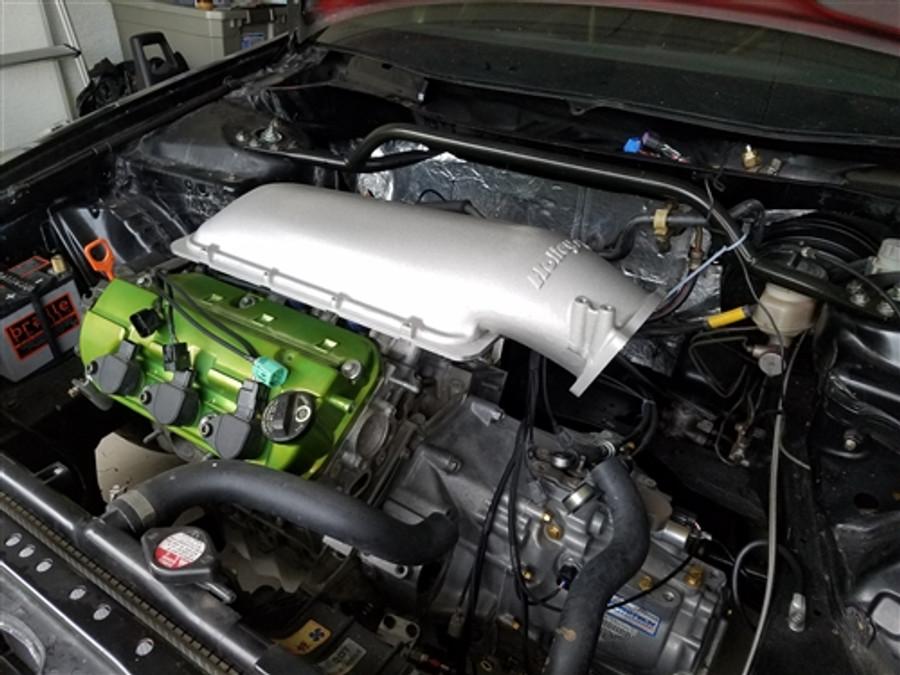 P2R J Series Holley EFI Intake Plenum Adapter Kit