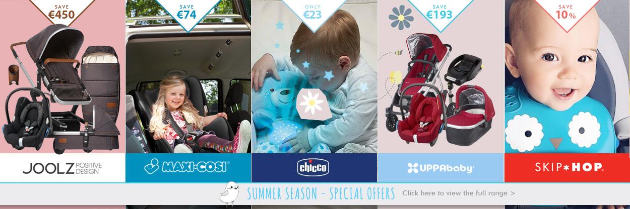 Eurobaby Summer Specials