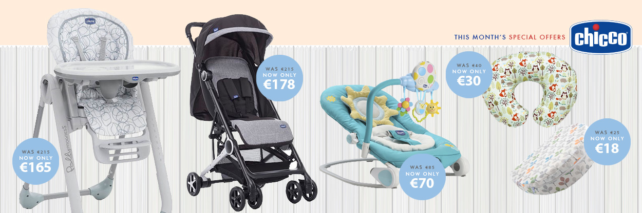 Chicco Specials - Pushchairs, bouncers  highchairs