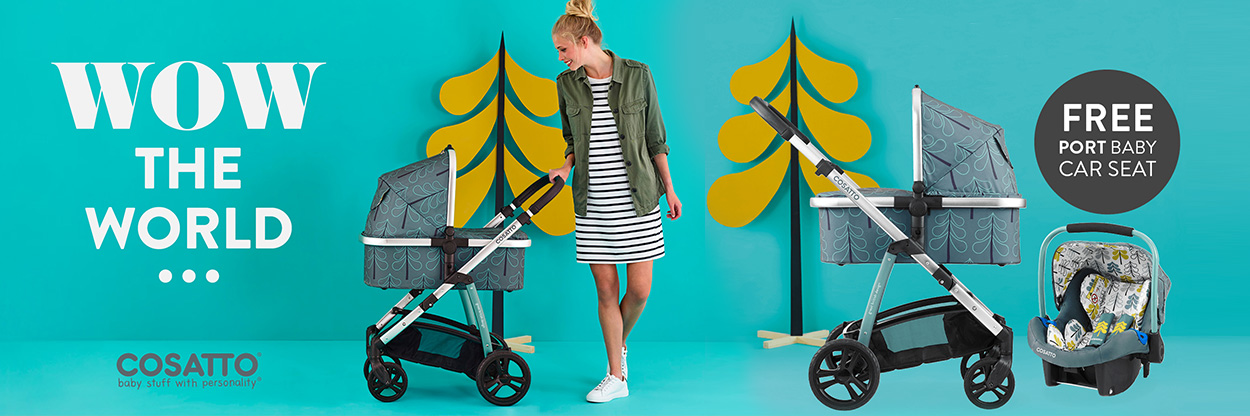 Cosatto Wow Travel System  Special Offer
