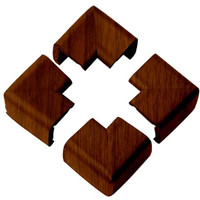 Clevamama Wood Effect Corner Cushion