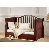 BR Baby Oslo Sleigh Cotbed - Coco
