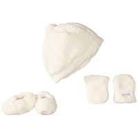 JJ Cole Infant Hat, Mittens & Booties Set