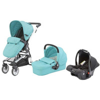 Baby Elegance Beep Twist Travel System - Aqua