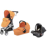 Baby Elegance Beep Twist Travel System - Orange
