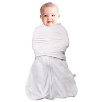 Clevamama 3 in 1 Swaddle Bag (3 - 6 Months) - Cream