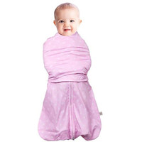 Clevamama 3 in 1 Swaddle Bag (0- 3 Months) - Pink