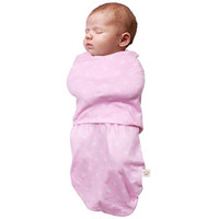 Clevamama Swaddle to Sleep (0-3 Months) - Pink